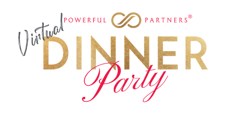 Virtual Dinner Party heading