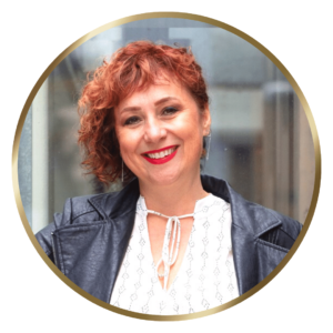 photo of Joanna Sobran, Episode 2 WOMXNAIRE guest